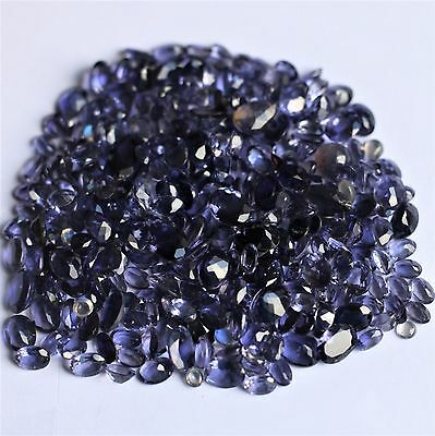 SET OF 50 cts IOLITE GEM NATURAL (stones precious/ fine)