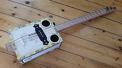 cigar box guitar - hand crafted by salty dog CBG-3/4 SIZE