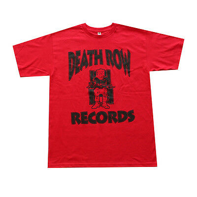 Death Row Records Men's T- Shirt Red