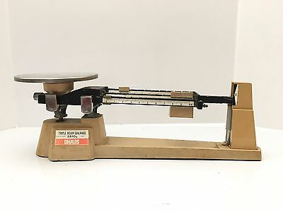 OHAUS TRIPLE BEAM BALANCE SCALE 700/800 SERIES 2610g 5LB 2OZ