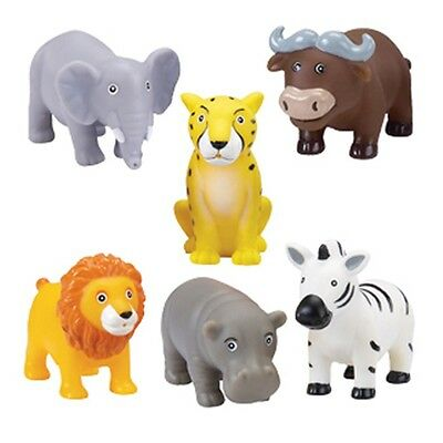 KuKu Bath Toy Set - Jungle Animals
