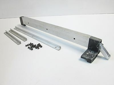 """Sears Craftsman 8"""" & 9"""" Table Saw Rip Fence & Guide Rails, for 20"""" deep tables"""