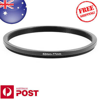 New 82-77mm 82mm-77mm 82 to 77 Metal Step Down Lens Filter Ring Stepping - Z385F