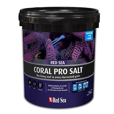 Red Sea Coral Pro Sea Salts 7 Kg Bucket Optimal Element Ratio Coral Growth
