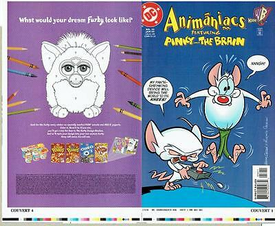 Animaniacs #56 Proof Cover Production Art