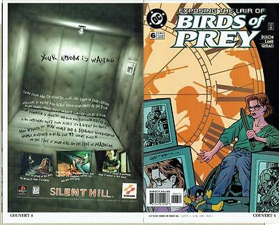 Birds Of Prey #6 Proof Cover Production Art