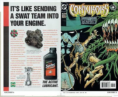 Conjurors #2 Of 3 (1999) Proof Cover Production Art