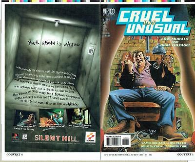 Cruel And Unusual #1 Proof Cover Production Art