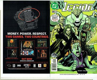 Legion Of Super-Heroes #120 Proof Cover Production Art