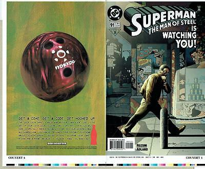 Superman The Man Of Steel #91 Proof Cover Production Art