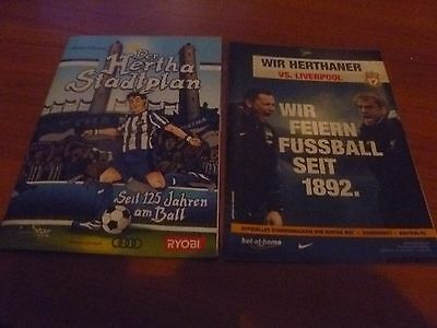 programme Friendly 2017 Hertha BSC  - FC Liverpool