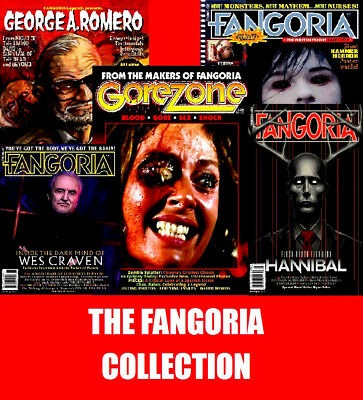 FANGORIA Issues 1 - 346 Complete with Specials & Extras on 32GB USB Not DVD