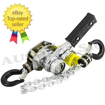 Chain Ton Lever Block Hoist Come Along Ratcheting Puller Pulley 250kg Beaver New