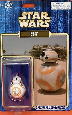 Star Wars 2017 Disney Droid Factory BB-8 The Force Awakens TFA The Last Jedi New