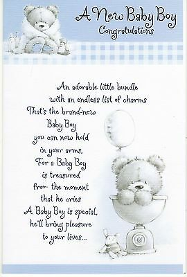 baby boy a new baby boy congratulations new baby greeting card