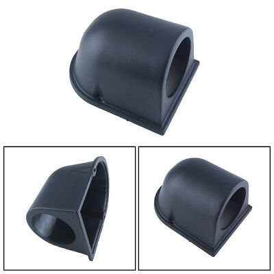"2"" 52MM Black ABS Plastic Car Dash Pod Hole Mount Single Gauge holder Cup Black"