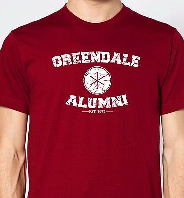 GREENDALE ALUMNI Premium Cotton T-shirt community college grizzly funny hulu