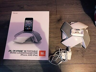 Station D'accueil JBL Blanche iPhone