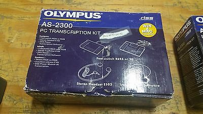 Olympus AS-2300 Transcription Kit for Dictation (Foot Pedal and Headphones)