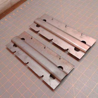 SIDE MOUNT BRACKETS FLAT STYLE PAIR for a HOOSIER CABINET  NOS