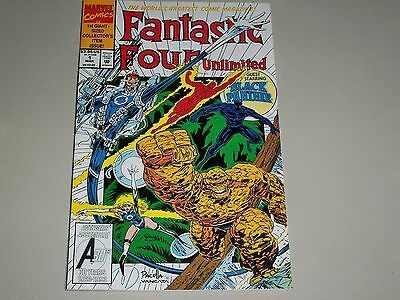 Marvel Fantastic Four Unlimited Issue #1 Guest Staring Black Panther -      4249