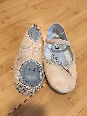 Girls Pink Ballet Shoes, Fits a Size 4 (size not marked)