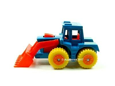 MATCHBOX / Tractor Shovel (Blue) - No packaging.