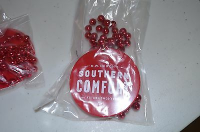 NEW! 25 Set of Southern Comfort Mardi Gras Beads Necklaces SO CO Man Woman Cave