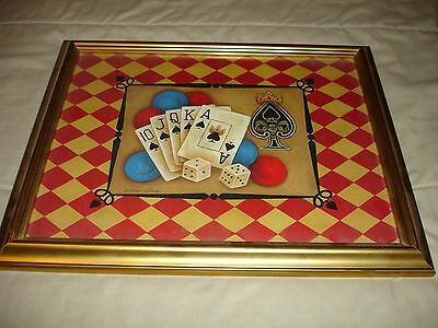 Poker Framed Graphics