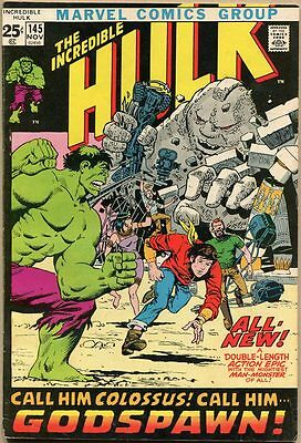 Incredible Hulk #145 - VG+