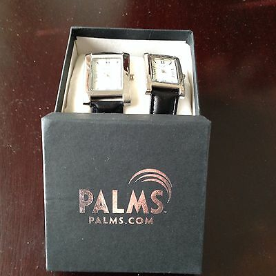 The Palms Las Vegas Quartz His And Hers Watches Black Band