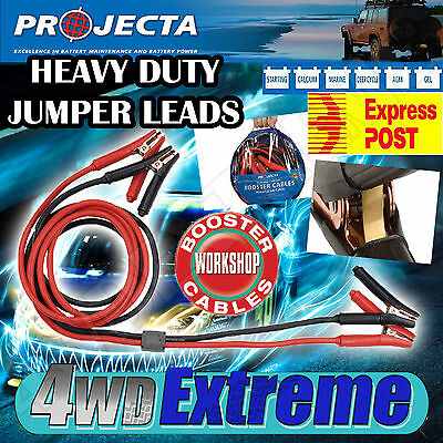 Projecta Sb900Sp 900Amp Surge Protected Jump Start Booster Battery Jumper Leads