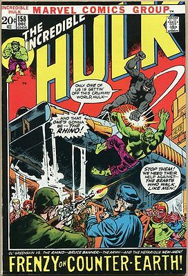 Incredible Hulk #158 - FN+