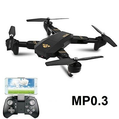 VISUO XS809HW HD Camera Altitude Hold Foldable Arm Drone RC Quadcopter 0.3MP