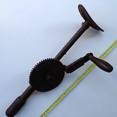 VINTAGE HAND DRILL for parts
