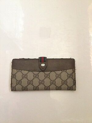 Vintage Gucci Wallet Authentic Women's Classic Style
