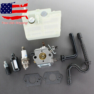 Carburetor For Stihl 024 026 MS240 MS260 # Walbro WT-194 Carb Air Fuel Filter