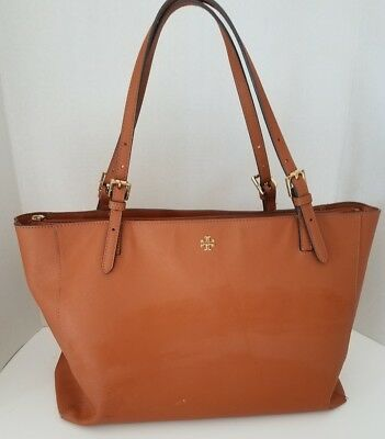 42d2f20d36 NWT GUESS ZENA Mocha Brown LOGO Saffiano Satchel tote bag w  padlock charm.   68.75 Buy It Now 1d 9h. See Details. TORY BURCH Luggage Brown YORK Saffiano  ...