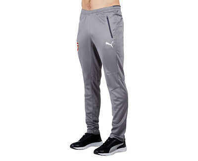 Puma Men's Arsenal FC Training Pant - Steel Grey/Ebony