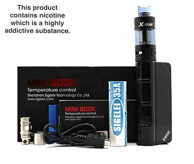 Mini Book Sigelei Kit 40W Temperature Control Mod Starter Kanthal And Ni200 Coil