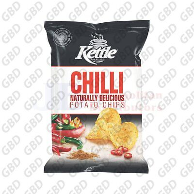KETTLE CHIPS CHILLI 90G (x12)