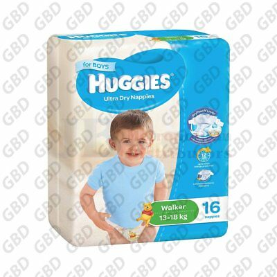 HUGGIES WALKER BOY 16'S (x1)