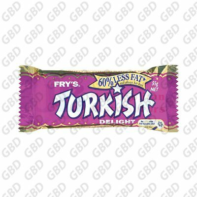 CADBURY TURKISH DELIGHT 55G (x32)