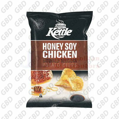 KETTLE HONEY SOY CHICK 45G (x18)
