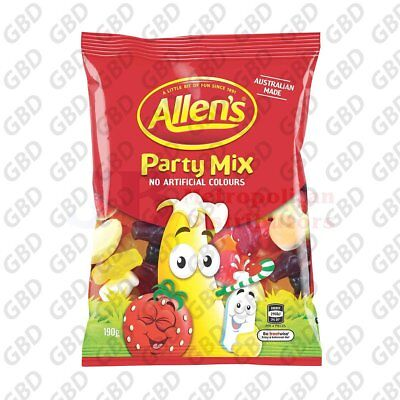 ALLENS PARTY MIX BAG 190G (x12)