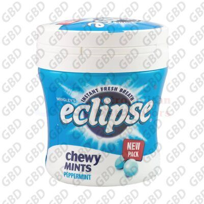 ECLIPSE CHEWY PEPPERMINT BOTTLE 93G (x6)