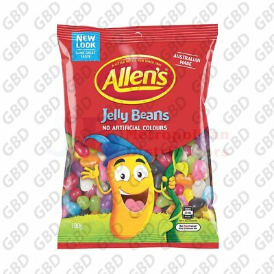 ALLENS JELLY BEANS BAG 190G (x12)
