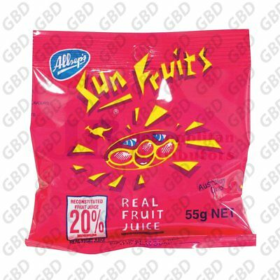 ALLSEPS BAGS OF SUN FRUITS (x21)
