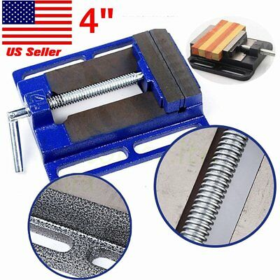 "4"" Cross Drill Press X-Y Clamp Machine Vise Metal Milling Slide 2 Way HD EK"