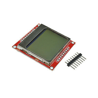 84*48 LCD Display Module White Backlight LCD with PCB for Nokia 5110 Arduino
